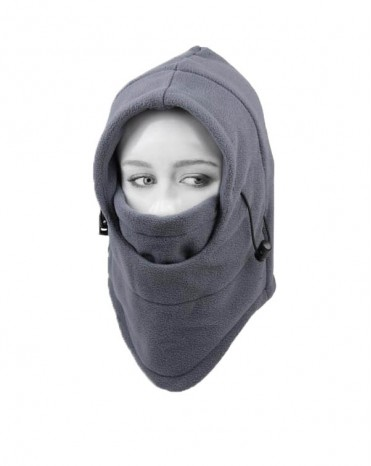 6 in 1 Thermal Fleece Balaclava for Motorcycles, Skiing, Hiking, Camping