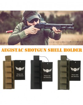 Tactical Shotgun Butt Stock Cartridge Reload Velcro Strip Shell Holder