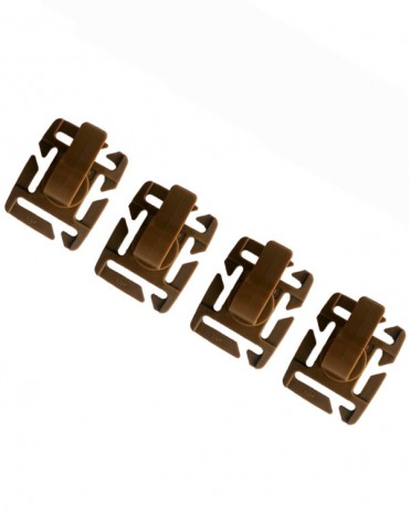 Tactical Military Hydration Tube Clips Water Tube Clips