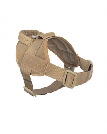 Tactical K9 Dog Training Vest Nylon Adjustable Service Police Patrol Molle Harness
