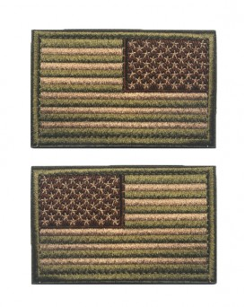 Tactical USA Flag Patches